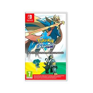 Juego Nintendo Switch Pokemon Espada+ Pase De . . .