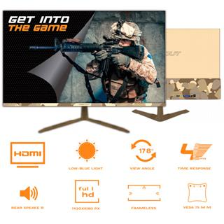 Monitor Keep Out Xgm24army 23. 8´´ 1920X1080 Led . . .
