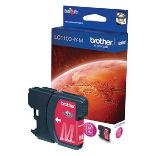 Fotos BROTHER CONSUMIBLES TINTA LC-1100HYM INK CARTRIDGE MAGENT F/ MFC-6490CW 750 P