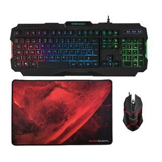 Mars Gaming Mcp118 Gamcombo Rgb Kboard+ Mouse+ Mpad . . .