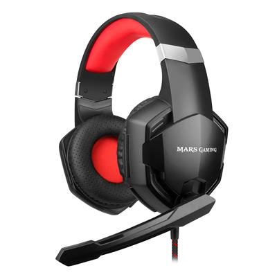 Mars Gaming Mhx Headphone+ Mic Usb Superbass 50Mm . . .