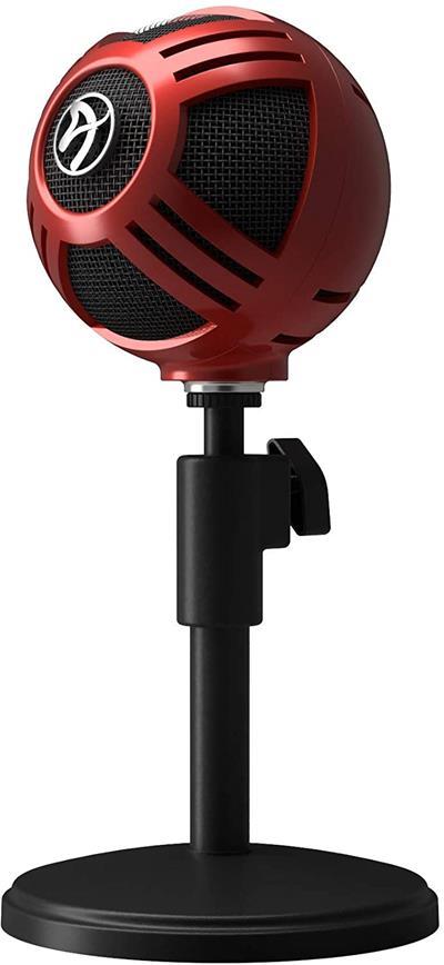 Micrófono Arozzi Sfera Rojo Usb