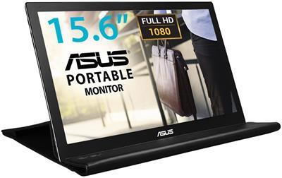 Monitor Portátil Asus Mb169b+  Usb 15. 6´´ Led Ips . . .
