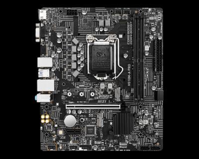 Msi H510m- A Pro Placa Base Intel H510 Lga 1200 . . .