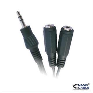 Nanocable Cable Audio Estereo 2X3. 5/ H- 3. 5/ M 15Cm . . .