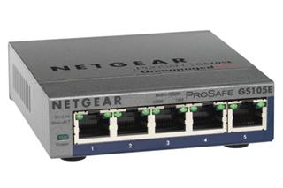 Switch Netgear Prosafe Plus Gigabit 5 Puertos . . .
