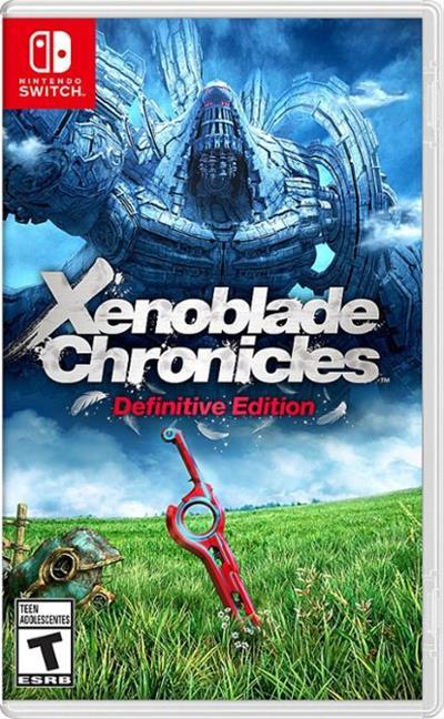 Nintendo Switch Xenoblade Chron.  Definitive . . .