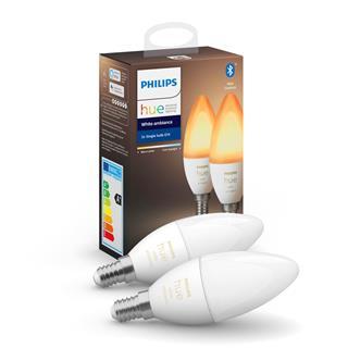 Bombilla Philips Hue White Ambience Pack E14 Led . . .