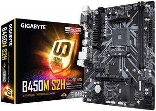 Placa Base Gigabyte B450m S2h Am4 Matx 2Xddr4