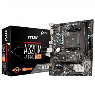 Placa Base Msi A320m- A Pro Max Am4 . . .