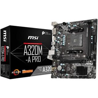 Placa Base Msi A320m A Pro Am4