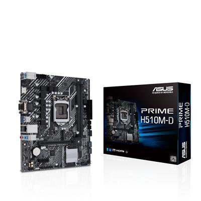 Placa Base Asus H510m- D Prime Ddr4 1200 Gen10 . . .