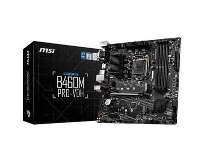 Placa Base Msi B460m Pro- Vdh 1200  Gen10