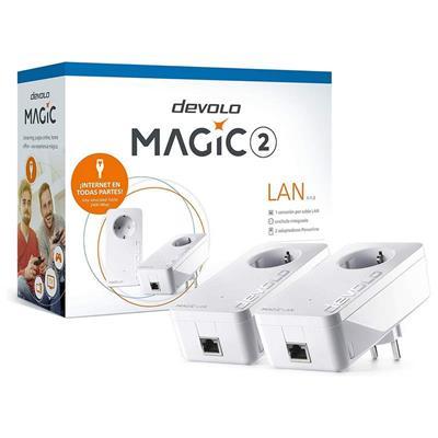 Plc Devolo Magic 2 Lan Adaptador Powerline Kit De . . .