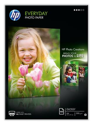 Fotos HP Everyday Photo A4 semi-glossy one-sided
