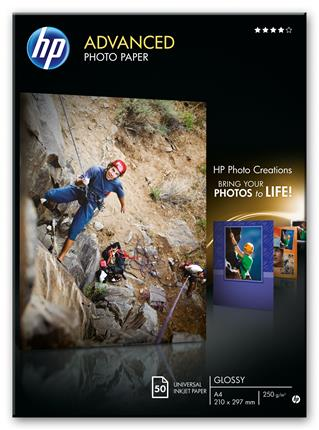Fotos HP Paper Photo/Adv Glossy A4 50sh