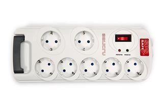 Fotos Regleta de 7 tomas Salicru SAFE7+ protección sobretensión y telefónica
