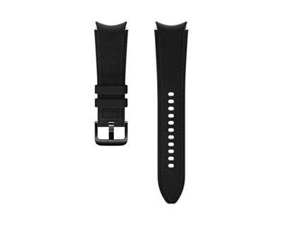 Samsung Leather Band Black 20Mm M/ L Gw4
