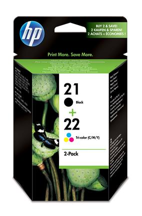 Fotos HP 21/22 Ink Print Cart 2-pack