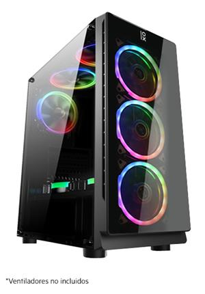 Semitorre Primux Pb870 Gaming Cristal Templado . . .