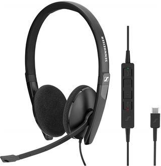 Sennheiser Sc 160 Usb- C Auriculares Con Micrófono
