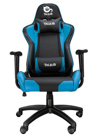 Fotos Silla gaming Talius Gecko V2 brazos fijos azul/negra