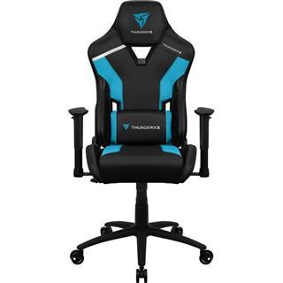Silla Gaming Thunder X3 Tc3 Ajustable Azure Blue