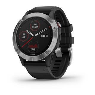 Smartwatch Garmin Fénix 6 47Mm Plata/ Negro