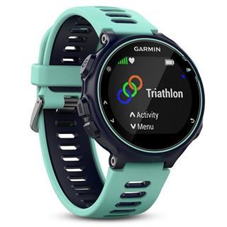 Fotos Smartwatch Garmin Forerunner 735XT azul turquesa