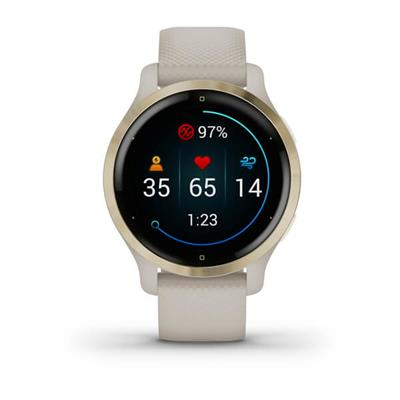 Smartwatch Garmin Venu 2S Beige . . .