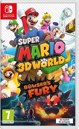 Super Mario 3D World +  Bowser´S Fury Nintendo . . .