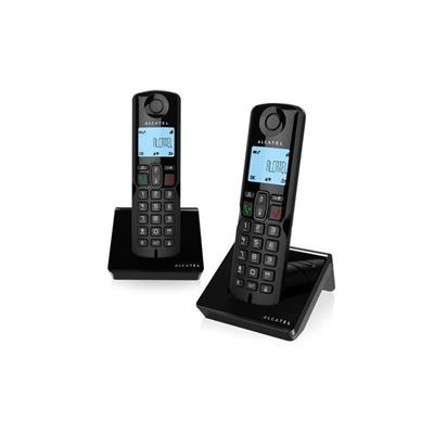 Teléfono Alcatel S250 Duo Inalámbrico Negro Outlet