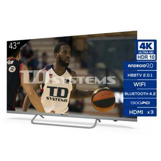 Televisor Td Systems K43dlx11us 43´´ Led Uhd 4K . . .