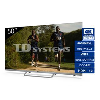 Televisor Td Systems K50dlx11us 50´´ Led Ultrahd . . .