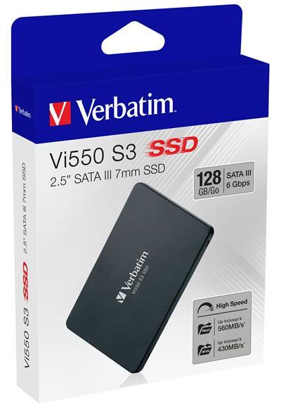 Verbatim Vi550 2. 5  Ssd    128Gb Sata Iii