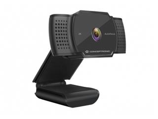 Webcam Conceptronic Amdis02b 2K . . .