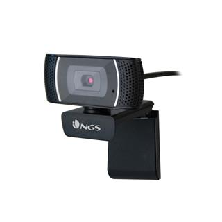 Webcam Ngs Xpress Cam 1080 Negro . . .
