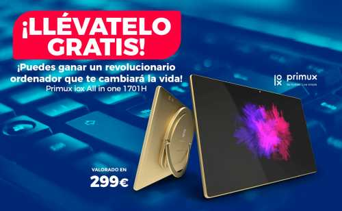 sorteo ordenador Primux All in One