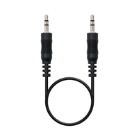 Cable Audio Estéreo Nanocable Jack 3. 5/ M- Jack . . .