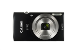 Canon Ixus 185 Black Vuk             20Mp 4:3 8X . . .