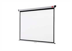 Wall Screen Nobo/ 175X132. 5 Cm White