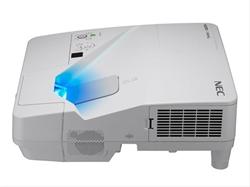 Nec Um301x Projector Incl.  Wall . . .