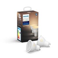 Philips Hue White Ambiance 2 Bulb Gu10 Bt