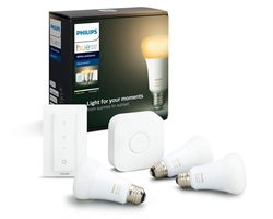 Philips Hue White Ambiance Kit 3 Bulb E27 Bt