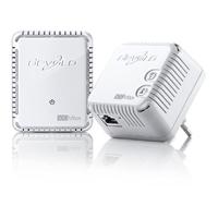 Adaptador Plc Dlan Devolo 500 Wifi Starter Kit . . .