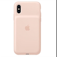 Apple Iphone Xs Smart Battery Case    Pink . . .