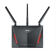 Asustek Rt- Ac86u Ac2900 Gaming Router Wire·