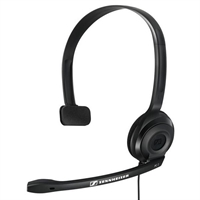 Auricular Sennheiser Pc 2 Chat Con Cable Con . . .