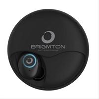 Auriculares Brigmton Bml 17 Negro.  Micrófono . . .