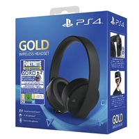Auriculares Sony Ps4 Gold Wireless . . .